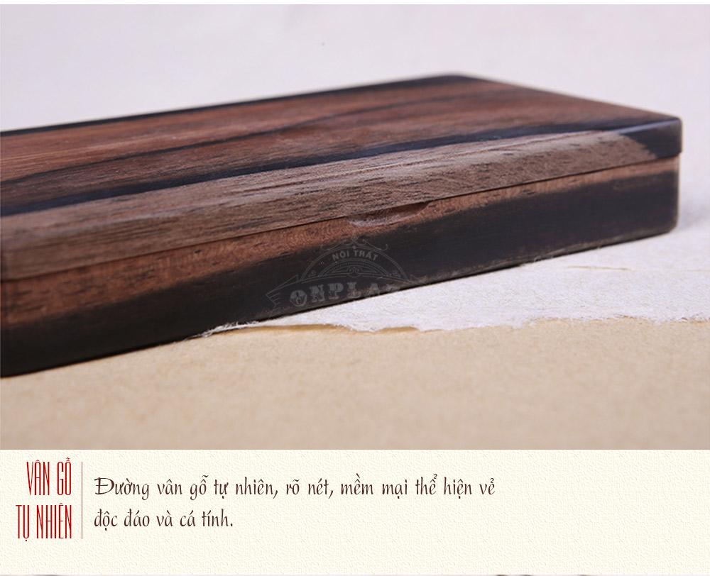 ảnh dài hộp đựng nhang ebony tự nhiên giá rẻ