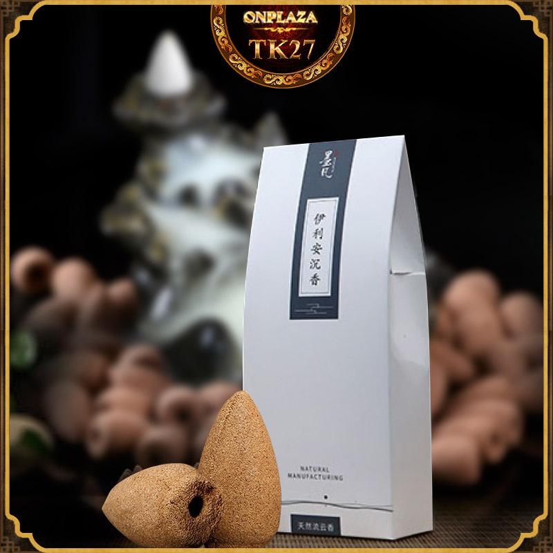 Nhang nụ trầm hương tỏa khói chảy ngược cao cấp dùng cho đốt khay tháp trầm hàng xuất khẩu TK27