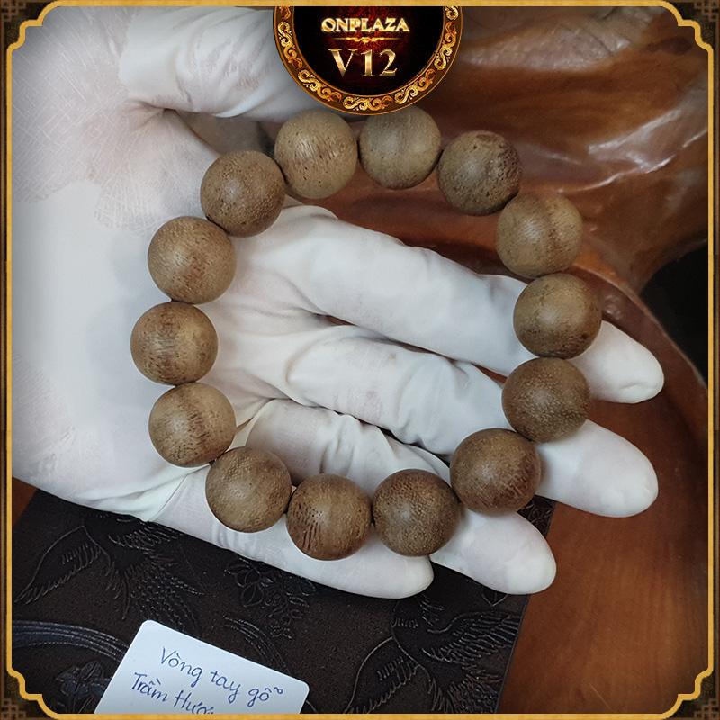 Vòng tay gỗ Trầm Hương 15 ly V12 2